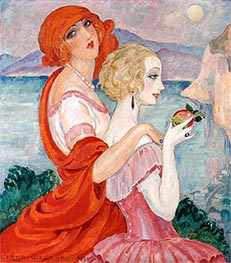 Gerda Wegener | On the Anacapri Road | Giclée Canvas Print