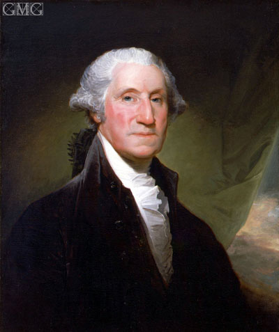 George Washington, 1795 | Gilbert Stuart | Painting Reproduction