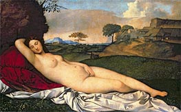 Giorgione | The Sleeping Venus, c.1508/10 | Giclée Canvas Print
