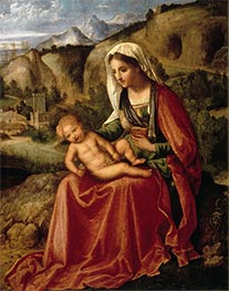 Giorgione | The Virgin and the Child in a Landscape, c.1503 | Giclée Canvas Print