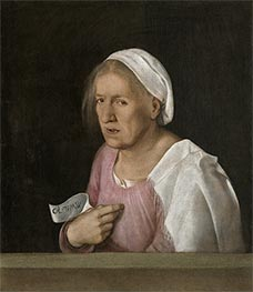 Giorgione | Portrait of an Old Woman, c.1502/08 | Giclée Canvas Print