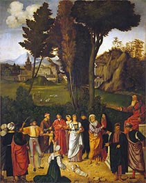 Giorgione | The Judgment of Solomon, c.1502/05 | Giclée Canvas Print
