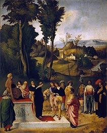 Giorgione | Moses undergoing Trial by Fire, c.1505 | Giclée Canvas Print