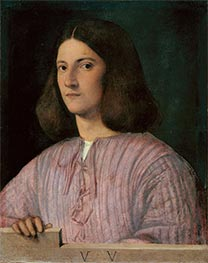 Giorgione | Portrait of a Young Man (Giustiniani Portrait), Undated | Giclée Canvas Print