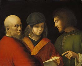 Giorgione | The Three Ages of Man, c.1500/10 | Giclée Canvas Print