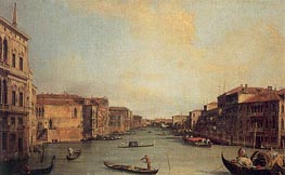 Canaletto | Grand Canal from the Palazzo Balbi | Giclée Canvas Print