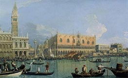 Canaletto | The Doge's Palace with the Piazza di San Marco | Giclée Canvas Print