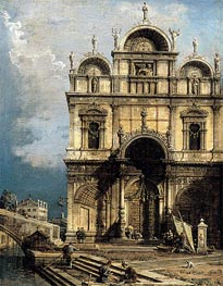 Canaletto | The School of San Marco | Giclée Canvas Print