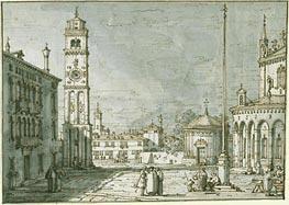 Canaletto | A Capriccio with Santi Maria e Donato, Murano, c.1755/60 | Giclée Paper Print