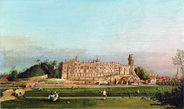 Canaletto | Warwick Castle | Giclée Canvas Print