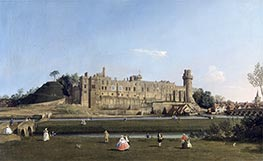 Canaletto | Warwick Castle | Giclée Paper Print