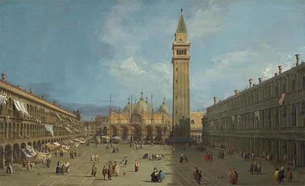 Piazza San Marco, c.1727/29 | Canaletto | Giclée Canvas Print