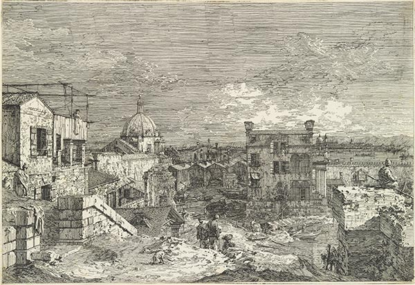 Imaginary View of Venice, 1741   Canaletto   Giclée Paper Print