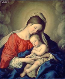 Sassoferrato | The Virgin and Child, 1640s | Giclée Canvas Print