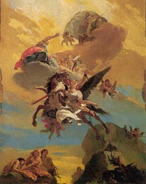 Tiepolo | Perseus and Andromeda, c.1730 | Giclée Canvas Print