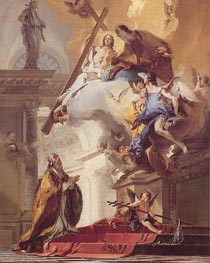 Tiepolo | The Trinity Appearing to Saint Clement | Giclée Canvas Print