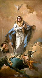 Tiepolo | The Immaculate Conception | Giclée Canvas Print