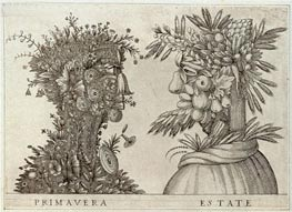 Arcimboldo | Spring and Summer, undated | Giclée Paper Print