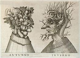 Arcimboldo | Autumn and Winter, undated | Giclée Paper Print
