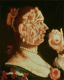Arcimboldo | Portrait of Eve, undated | Giclée Canvas Print