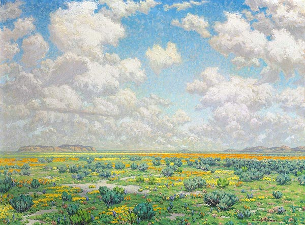 Spring - Antelope Valley, 1932 | Granville Redmond | Painting Reproduction