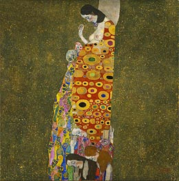 Klimt | Hope II | Giclée Canvas Print