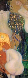 Klimt | Gold Fish | Giclée Canvas Print