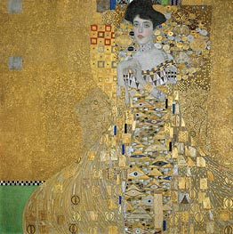 Klimt | Portrait of Adele Bloch-Bauer I | Giclée Canvas Print