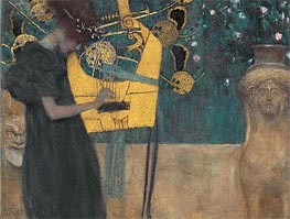 Klimt | Music I | Giclée Canvas Print