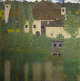 Klimt | Kammer Castle at Attersee I | Giclée Canvas Print