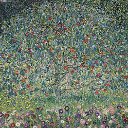 Klimt | Apple Tree I | Giclée Canvas Print