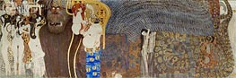 Klimt | The Hostile Powers (The Beethoven Frieze) | Giclée Canvas Print