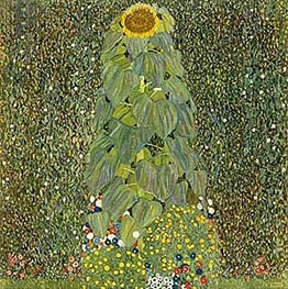 Klimt | The Sunflower | Giclée Canvas Print