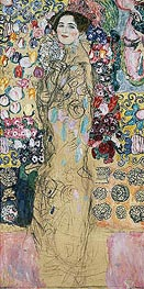 Klimt | Portrait of a Woman (Ria Munk) | Giclée Canvas Print