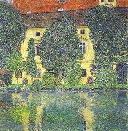 Klimt | Kammer Castle at Attersee III | Giclée Canvas Print