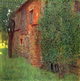 Klimt | Farmhouse in Kammer am Attersee | Giclée Canvas Print