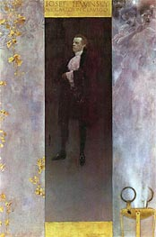 Klimt | Hofburg actor Josef Lewinsky as Carlos | Giclée Canvas Print