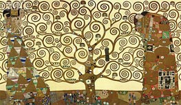 Klimt | The Tree of Life - Stoclet Frieze, c.1905/06 | Giclée Paper Print