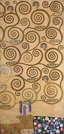 Klimt | Right-Hand Edge (Stoclet Frieze), c.1905/06 | Giclée Paper Print