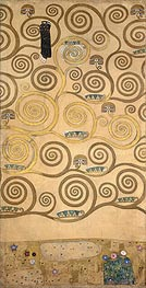 Klimt | Right-Hand Portion (Stoclet Frieze), c.1905/06 | Giclée Paper Print