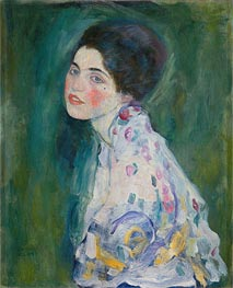 Klimt | Portrait of a Young Woman, c.1916/17 | Giclée Canvas Print