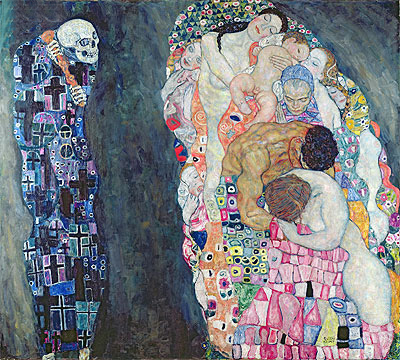 Death and Life, c.1910/15 | Klimt | Giclée Canvas Print