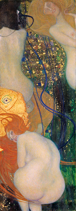 Gold Fish, c.1901/02 | Klimt | Giclée Canvas Print