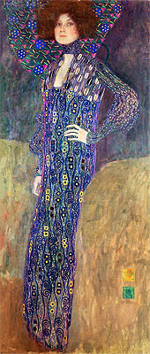 Portrait of Emilie Floge, 1902 | Klimt | Giclée Canvas Print