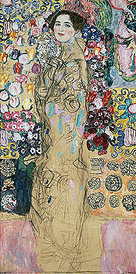 Portrait of a Woman (Ria Munk), c.1917/18 | Klimt | Giclée Canvas Print