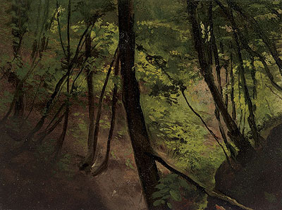 Waldinneres (In the Middle of the Forest), c.1881/87 | Klimt | Giclée Canvas Print