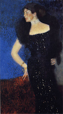Klimt | Portrait of Rose von Rosthorn-Friedmann, c.1900/01 | Giclée Canvas Print