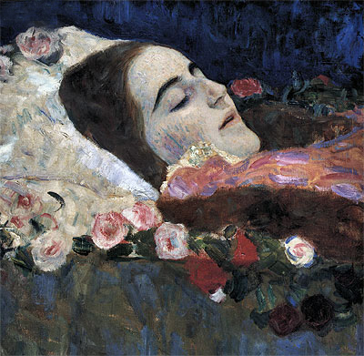 Ria Munk on Her Deathbed, 1912 | Klimt | Painting Reproduction