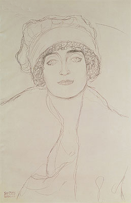 Klimt | Portrait of a Young Woman, Undated | Giclée Paper Print