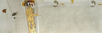Desire of Happiness (The Beethoven Frieze), 1902 | Klimt | Giclée Canvas Print
